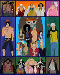 Onepiececollage by Theredtiedevil