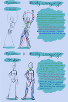 Poses and body Language by keys007