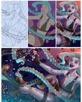 #FanArtFriday Jinx Process  by keys007