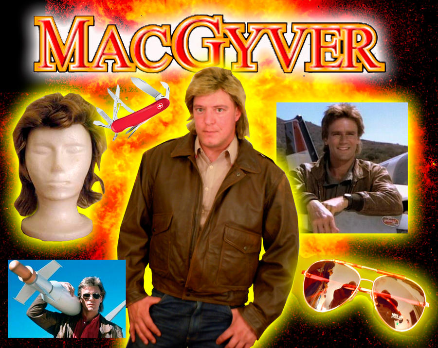 macgyver costume by ritter99 - Macgyver Halloween Costume