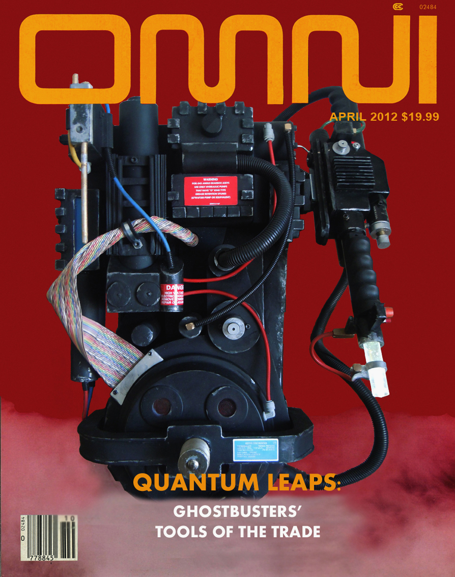 Ghostbusters Proton Pack Omni Cover by ritter99