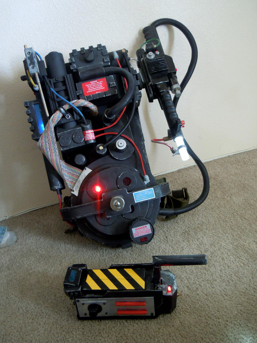 Ghostbusters Proton Pack And Ghost Trap By Ritter99 On