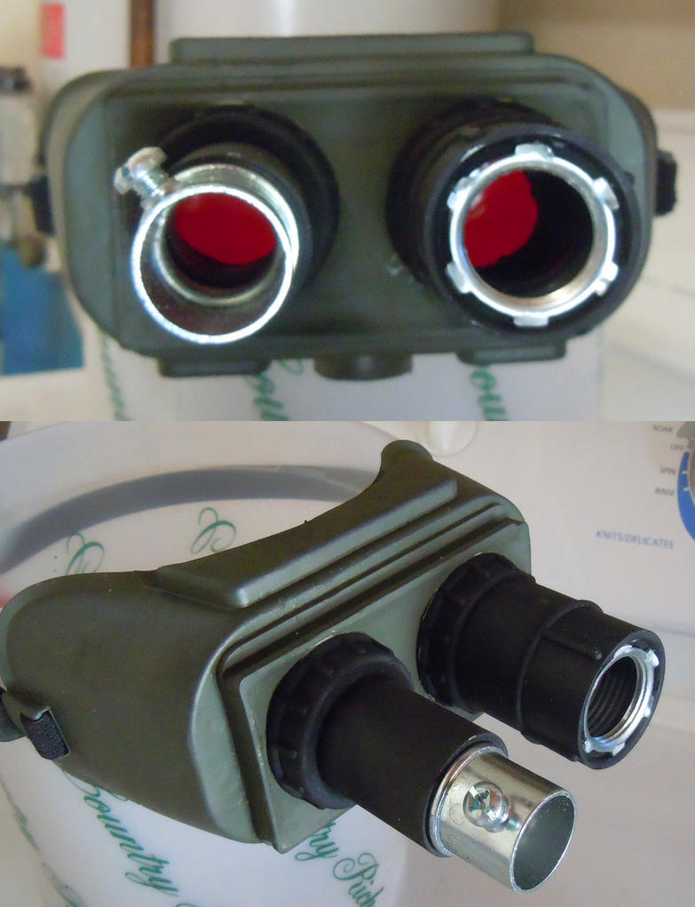 Ghostbusters Ecto Goggles by ritter99