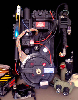Ghostbusters Proton Pack #2  Scratch Built