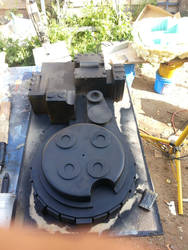 Ghostbusters Proton Pack Build Fiberglass Shell by ritter99