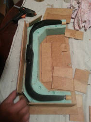 Ghostbusters Proton Pack Bumper Mold WIP 2 by ritter99