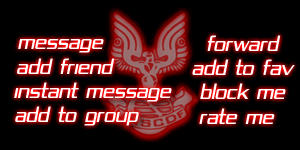 Red UNSC Myspace Contact Table by DraxianDezigns