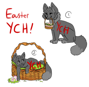 Dog/Cat Easter YCH (ON HOLD)