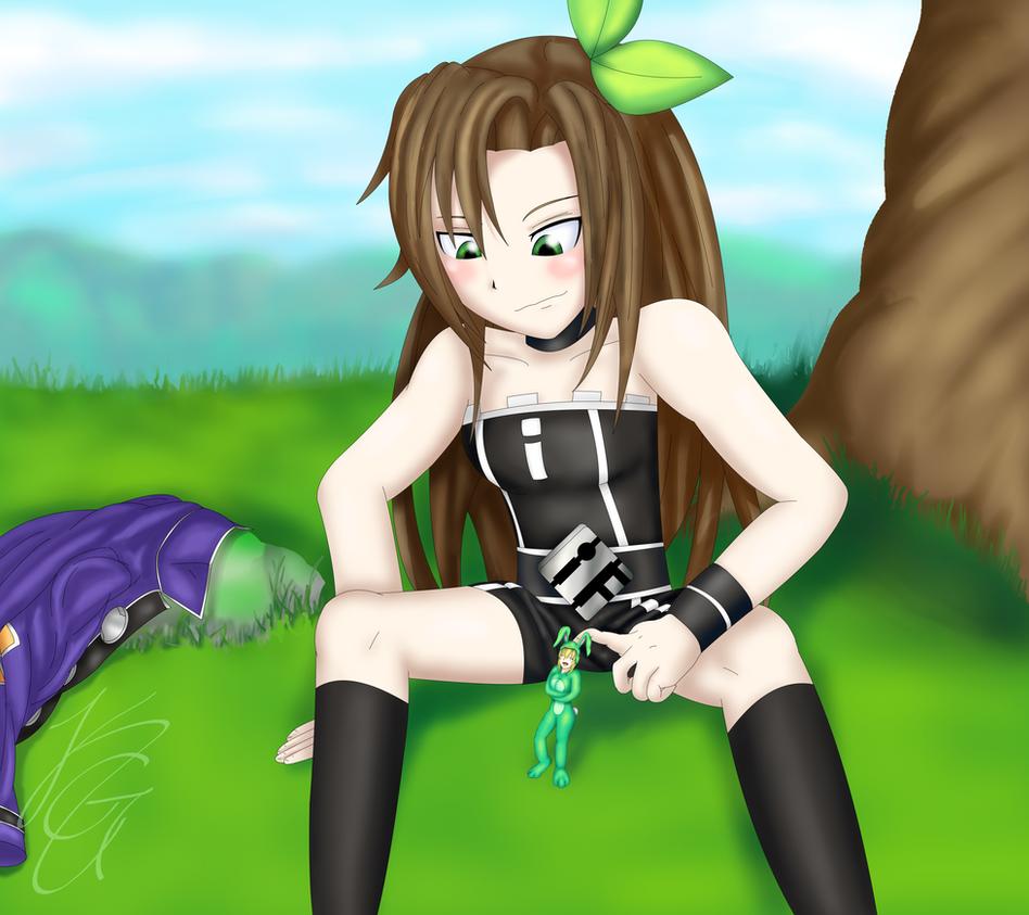 IF's Pet Bunny by kogochew