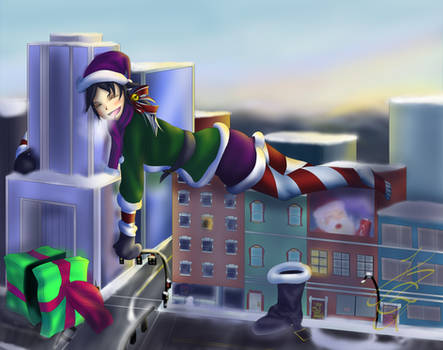 Santa's Big Helper, Helping Little