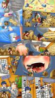 Asuka's Tiny Training 3/6 by kogochew