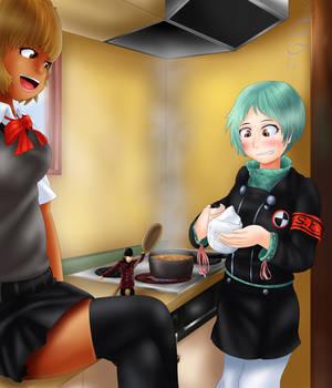 Mini Shinji, Cooking Coach