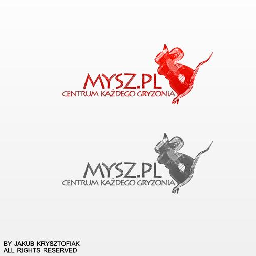 train mouse logo by pixstudiopl