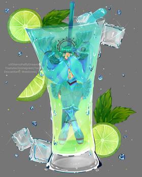 COCKTAIL SERIES- Aqua the aqua [7/12]