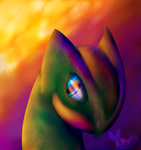 Sceptile's eyes -Commission-