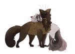 Weaselpelt and Newwie-Comm- by LysMily