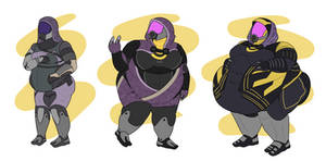 The Tali Trillogy by TheAnnoyingNPC