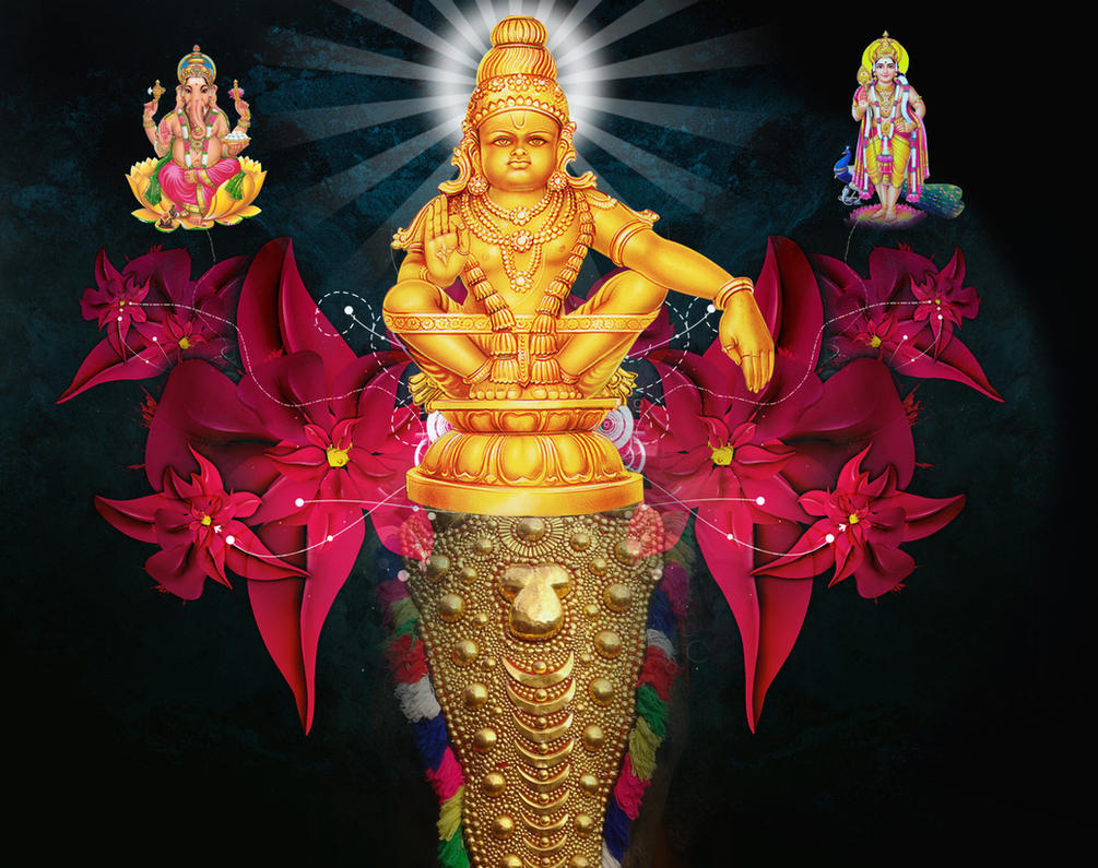 Fantastic Wallpaper High Quality Lord Ayyappa - ayyappa_swamy_banner_by_mskumar-d342evx  Image_285093.jpg