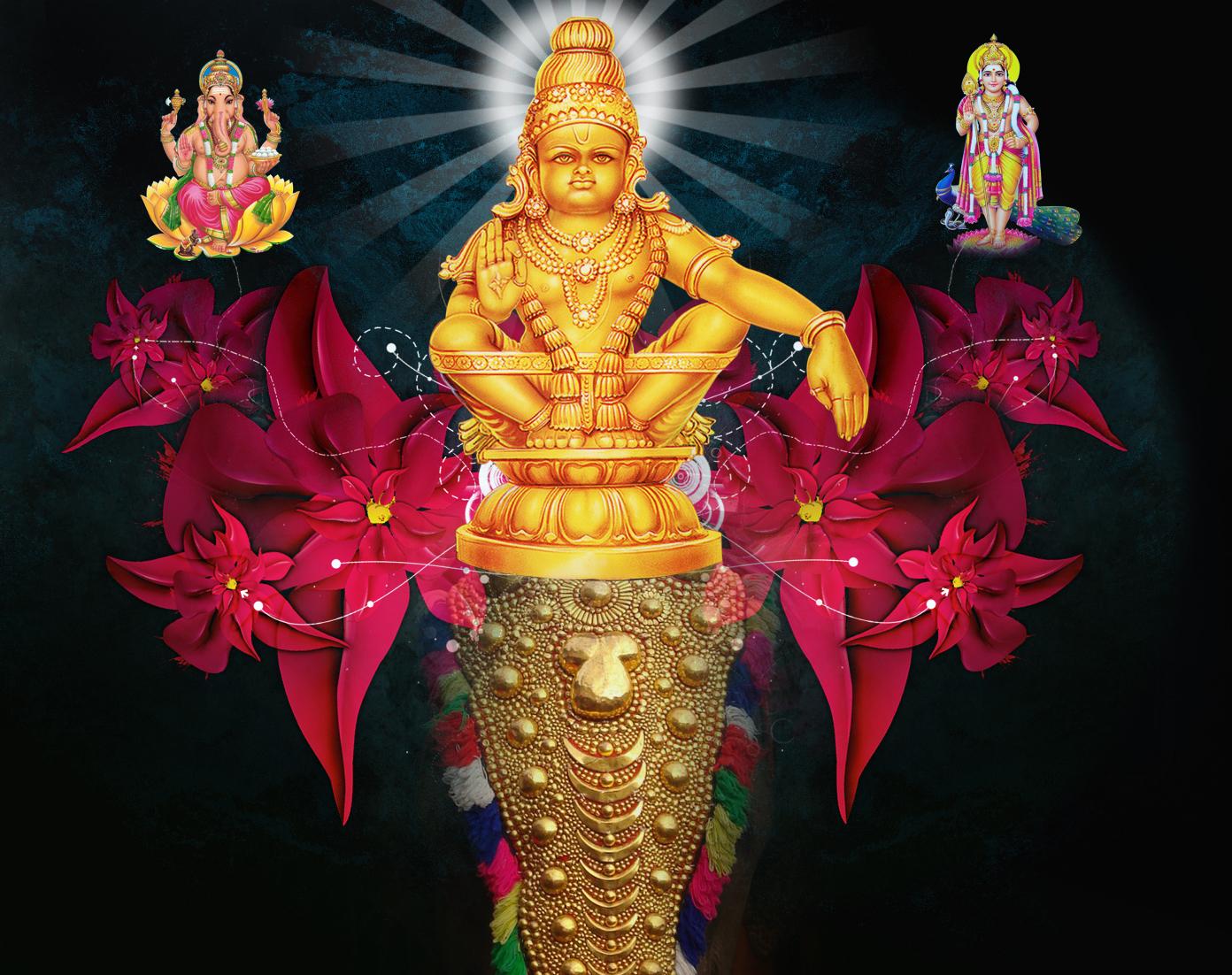 Ayyappa Swamy Banner by mskumar
