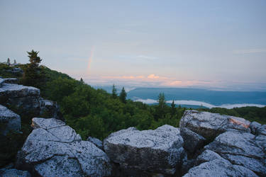 Rainbow at Bear Rocks, Dolly Sods Wilderness, WV