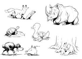 Illustrations by ZAPF-zeichnet