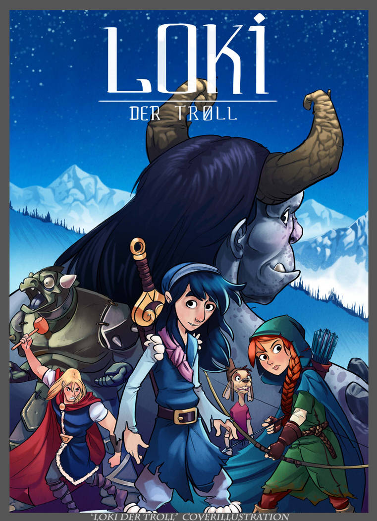 Loki the Troll Illustration by ZAPF-zeichnet