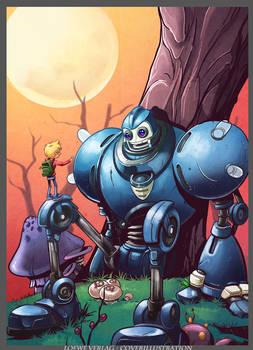 Roboland cover illustration