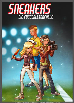 Cover illustration childreans book - Sneakers