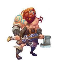 Dwarf Krug by ZAPF-zeichnet