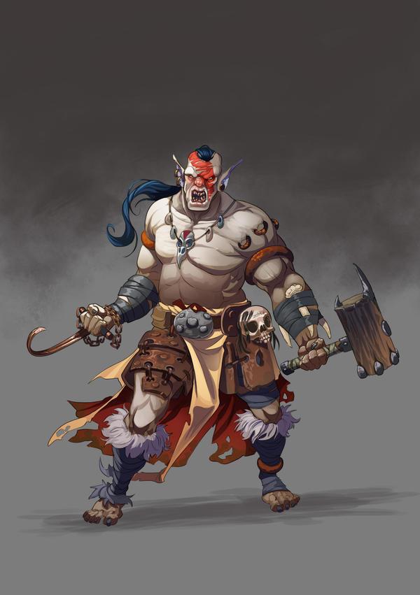 Orc Level 1 by ZAPF-zeichnet