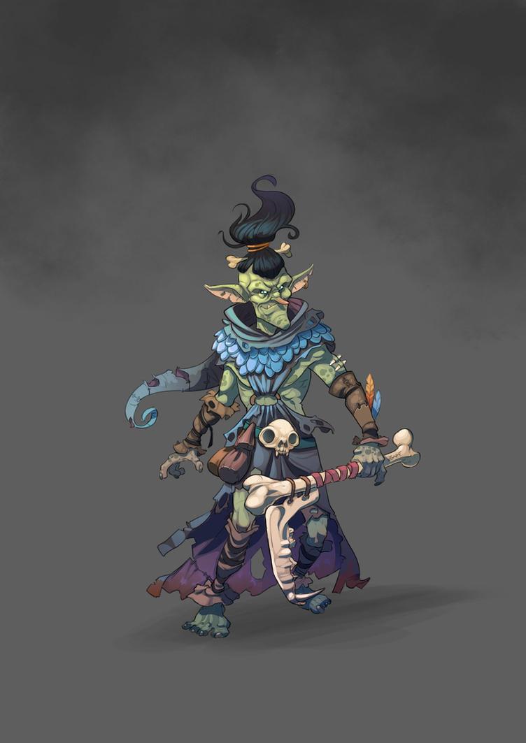 Goblin Chieftain by ZAPF-zeichnet