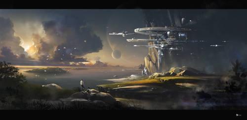 landscape by rulez-dmitriy