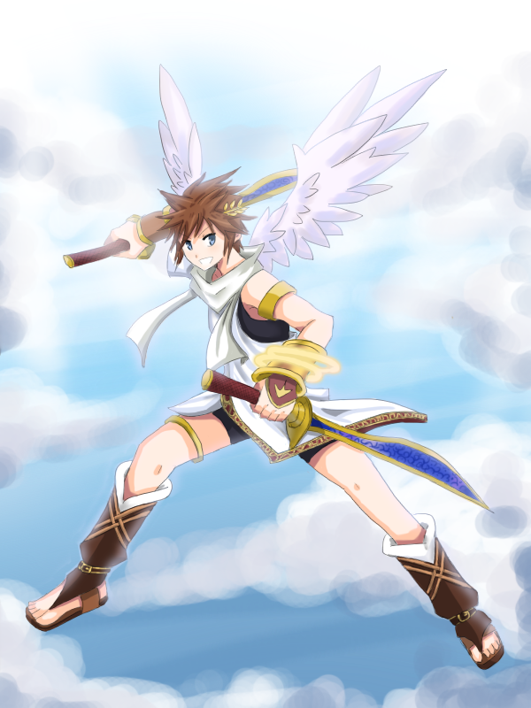 kid icarus favourites by draconar on deviantart