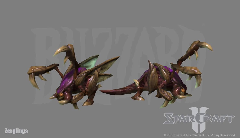 Starcraft 2: Zerglings by PhillGonzo