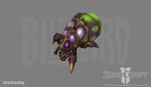 Starcraft 2: Zerg Baneling by PhillGonzo