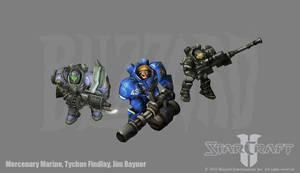 Starcraft 2: Marine variations