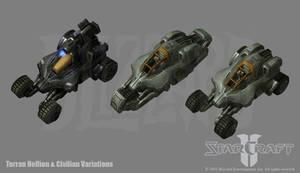 Starcraft 2: Terran Hellion