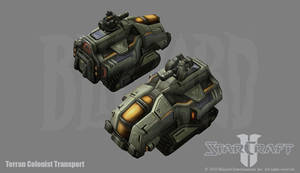 Starcraft 2: Transport by PhillGonzo