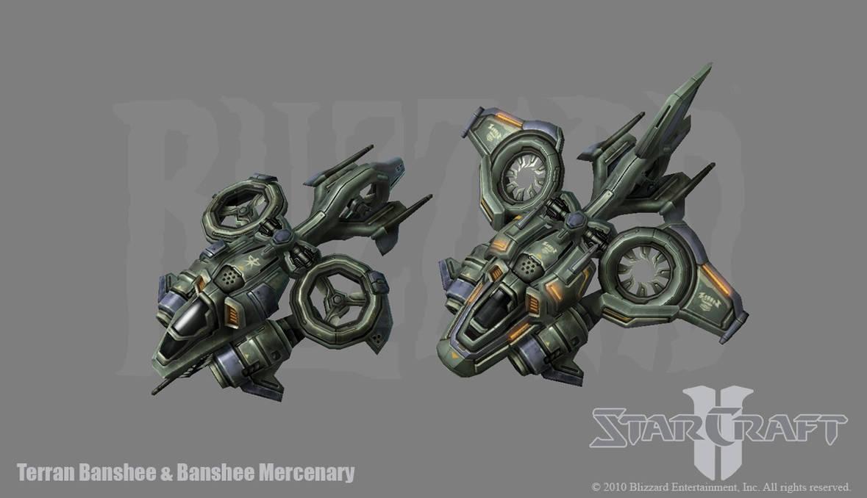 Starcraft 2: Terran Banshee by PhillGonzo on DeviantArt