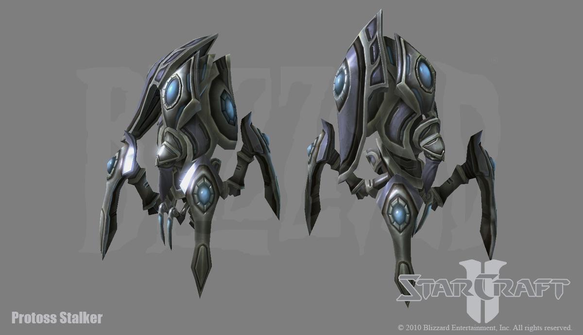 Starcraft 2: Protoss Stalker