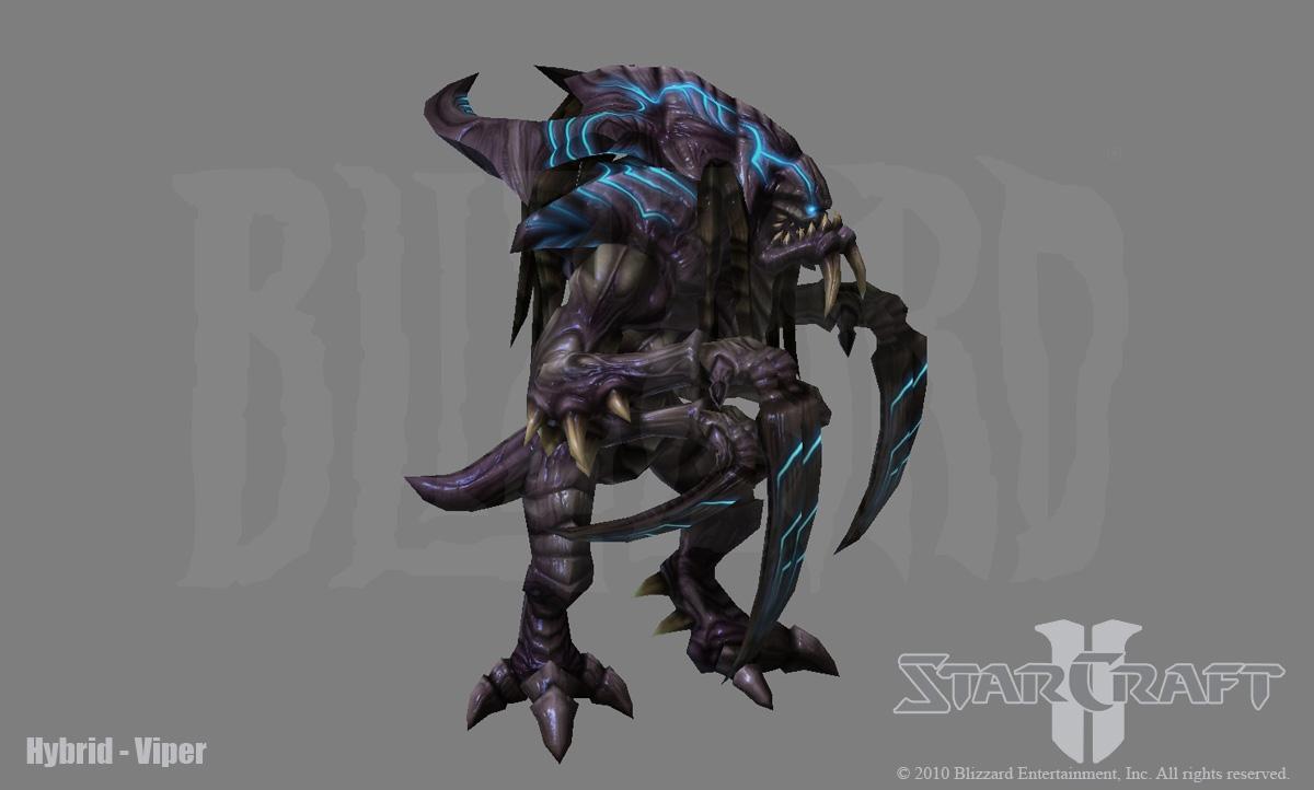 Starcraft 2: Hybrid Viper by PhillGonzo