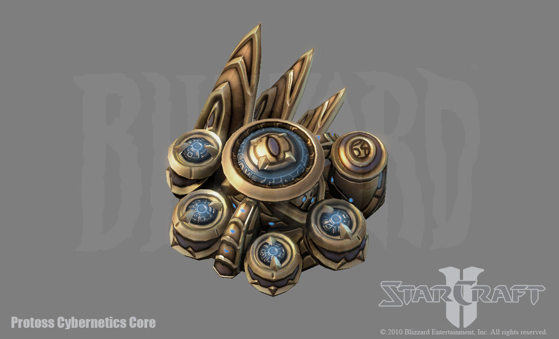 SC2: Protoss Cybernetics Core by PhillGonzo