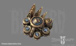 SC2: Protoss Cybernetics Core