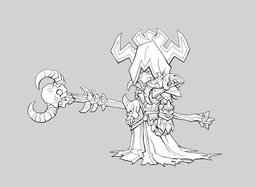 Deathmist Gnome Warlock