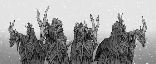 WoW - The Four Horsemen by Boarguts
