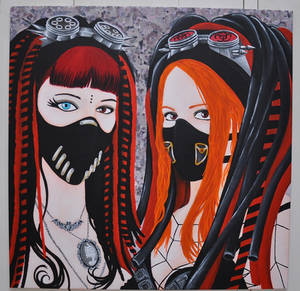 cybergoth michelle mistabys and mamzel'hope
