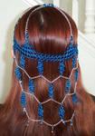 Blue dreams headdress