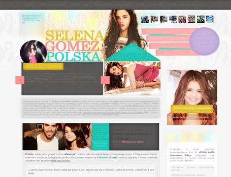 Selena-Gomez.pl Design 5