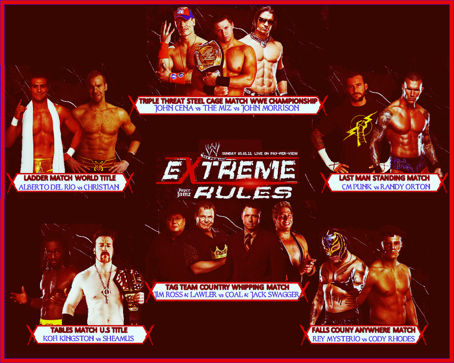 Extreme Rules 2011 Extreme Rules 2011 by