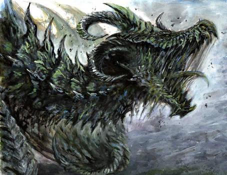 Never Dead Dragon by RavenCorona